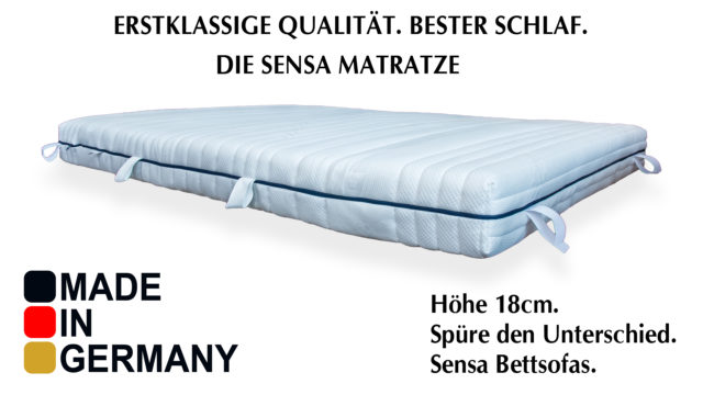 Matratze Made in Germany.