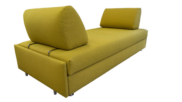 Flexibles Schlafsofa.